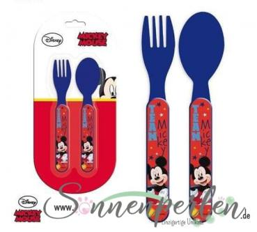 Kinder Besteckset Mickey Maus