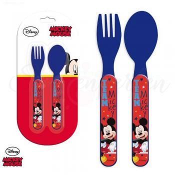 Kinder Besteckset Mickey Mouse
