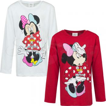 Kinder Langearm Shirt Minnie Mouse
